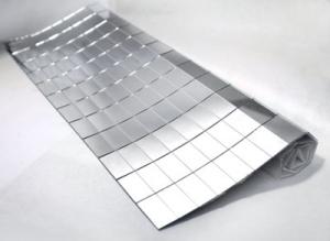 Использования зеркальной плитки