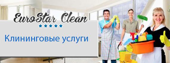 Убираем помещения любого типа - ЕвроСтар Клин