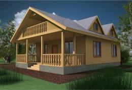 Каркасный дом: проекты доступного жилья