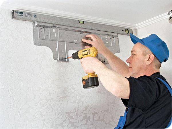 Возможна ли установка кондиционера, если на стенах финишная штукатурка?