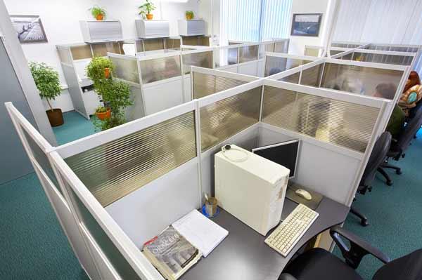 Как правильно использовать офисные перегородки?